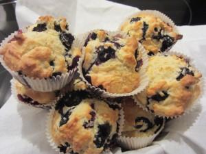 muffine cu afine